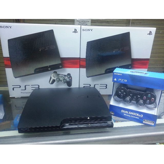 PS 3 Slim Hdd 500GB Full Game CFW 4.80 + 1 Stick Wireless, Video Game