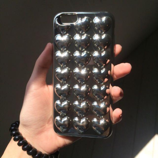 氣泡愛心手機殼iPhone6s