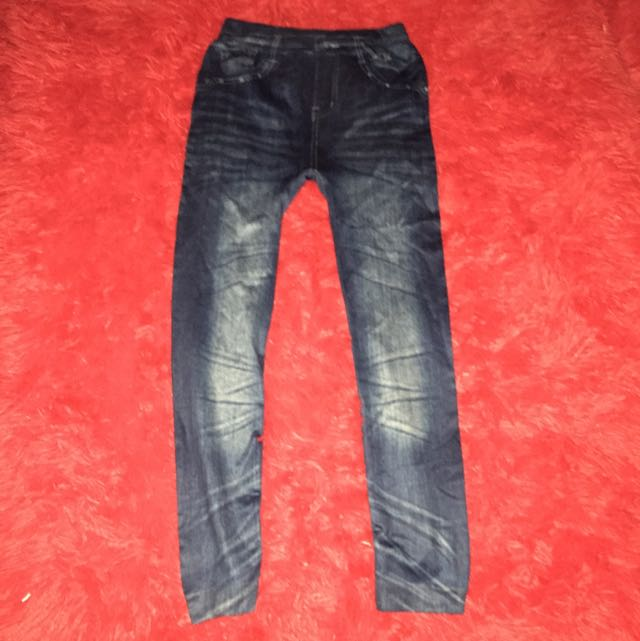 Jegging ~ Jeans Legging Dark Blue