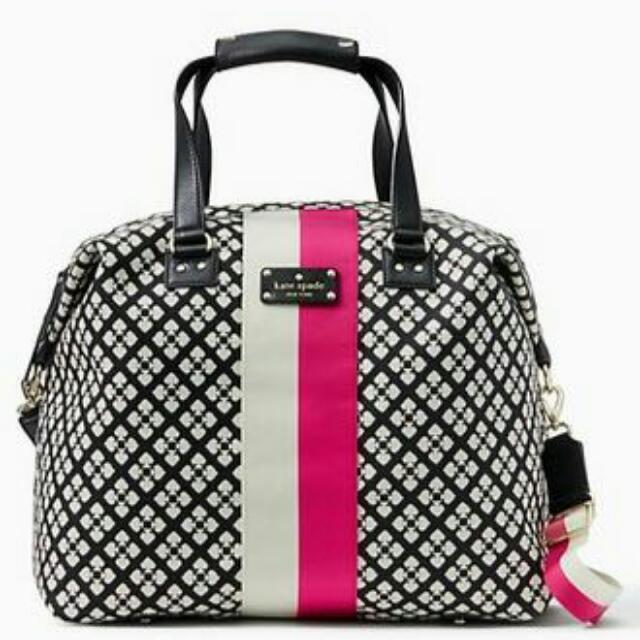 Kate Spade Juliet Weekender  Original Kate Spade dust bag polos  very very good condition, no defect and clean & with long strap original