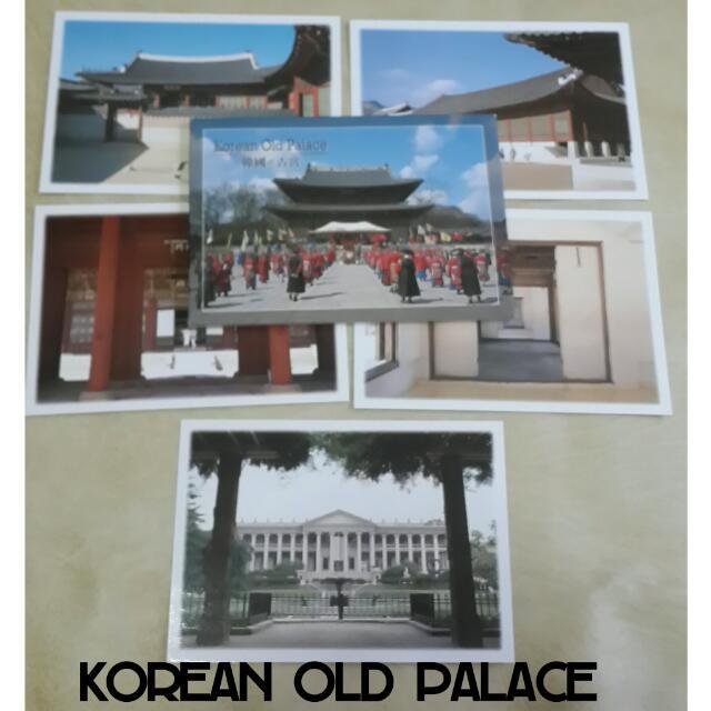 Korean Old Palace Postcard Set / Kartu Pos Istana Korea