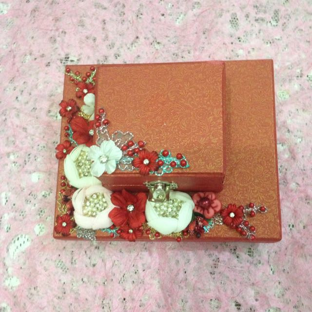 Kotak Perhiasan (Handmade)