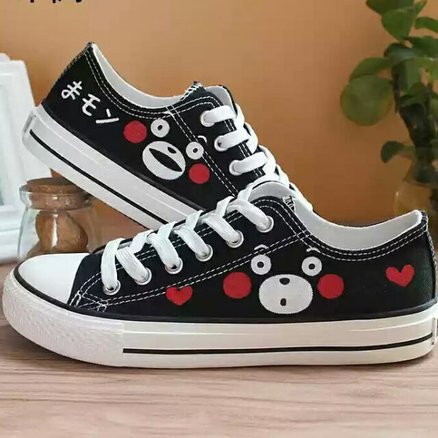 Kumamon Hand painted shoes