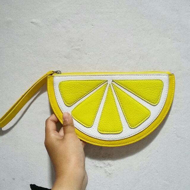 Lemon Clutch H&M