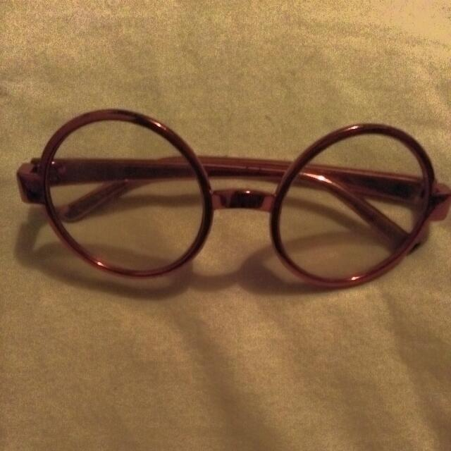 Lenon Pink Glasses
