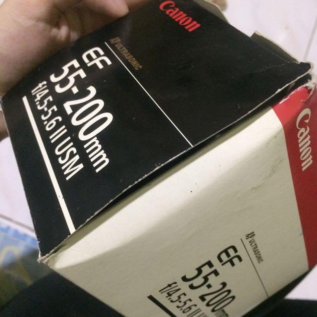 Lensa Canon EF 55-200mm