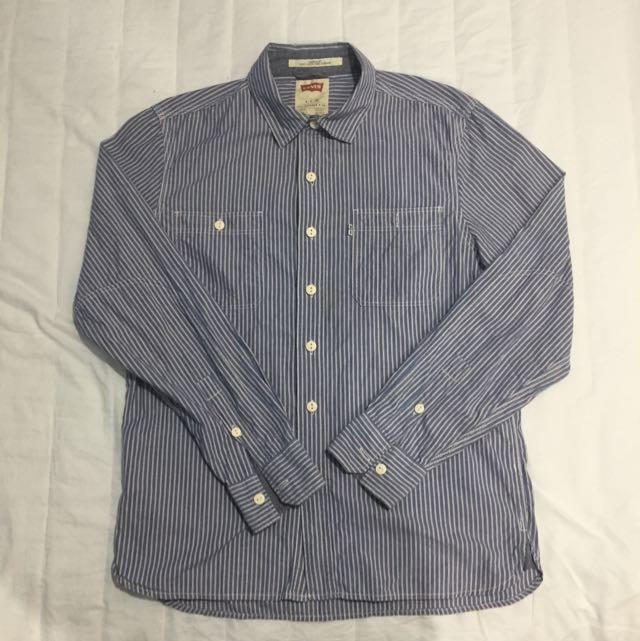 Levi's 直條紋襯衫
