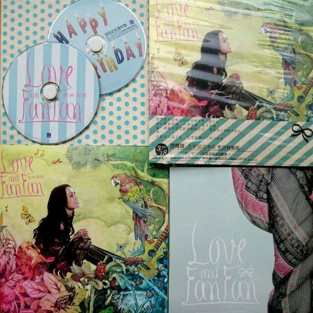 【免運+正版】Love &Fan Fan 生日快樂版
