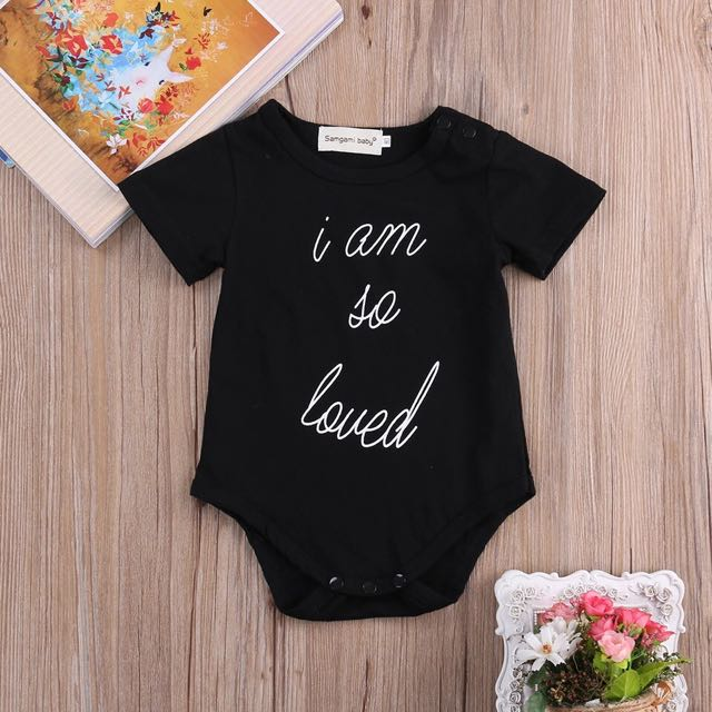 'Loved' Baby Bodysuit