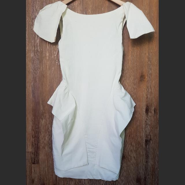 Low Back Structured Dress Size S
