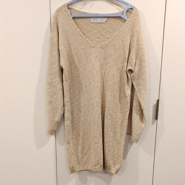 Madison Square Cream Sweater