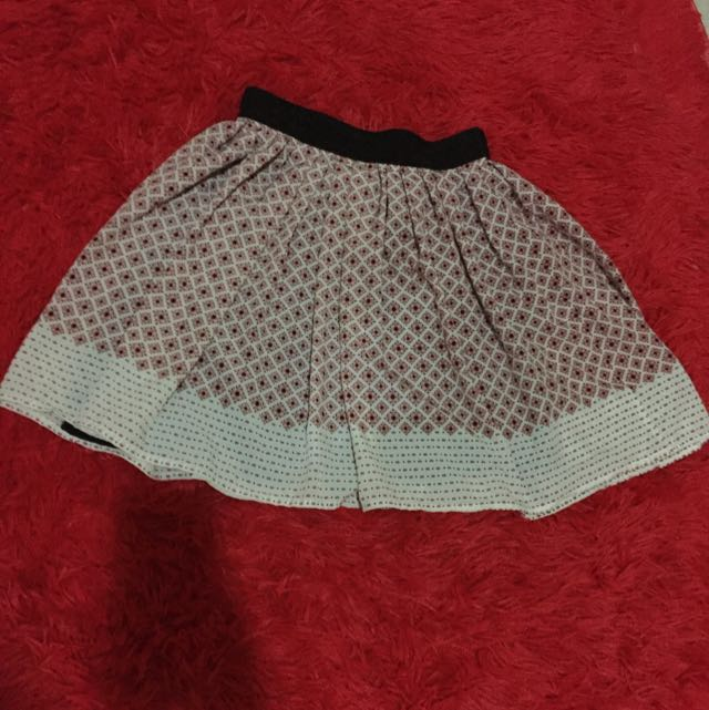 Mango Pattern Skirt