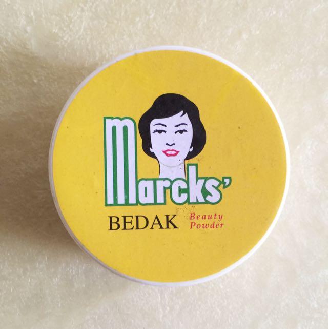 Marcks Bedak Beauty Powder Creme