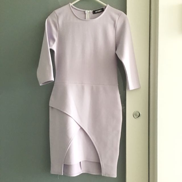 Misguided Lilac Dress