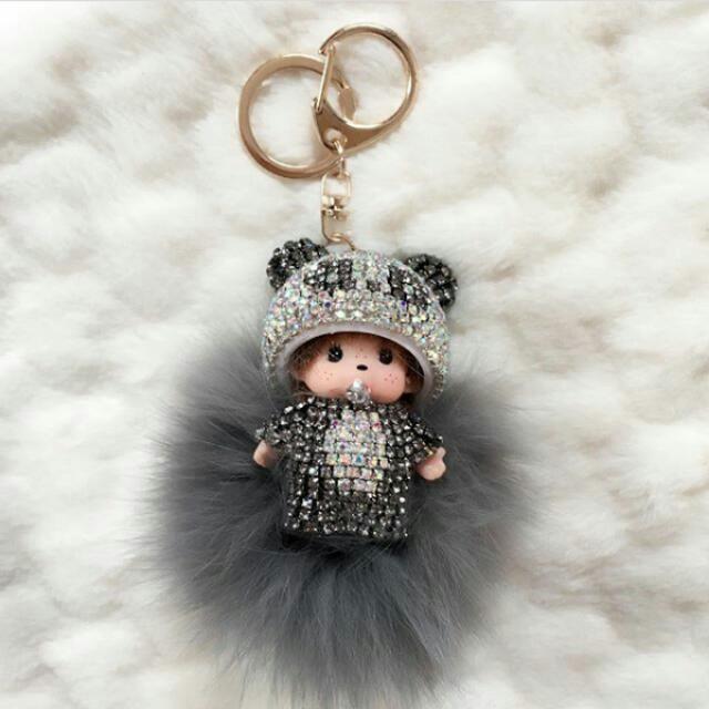 Monchichi Bag Charms/Keychains