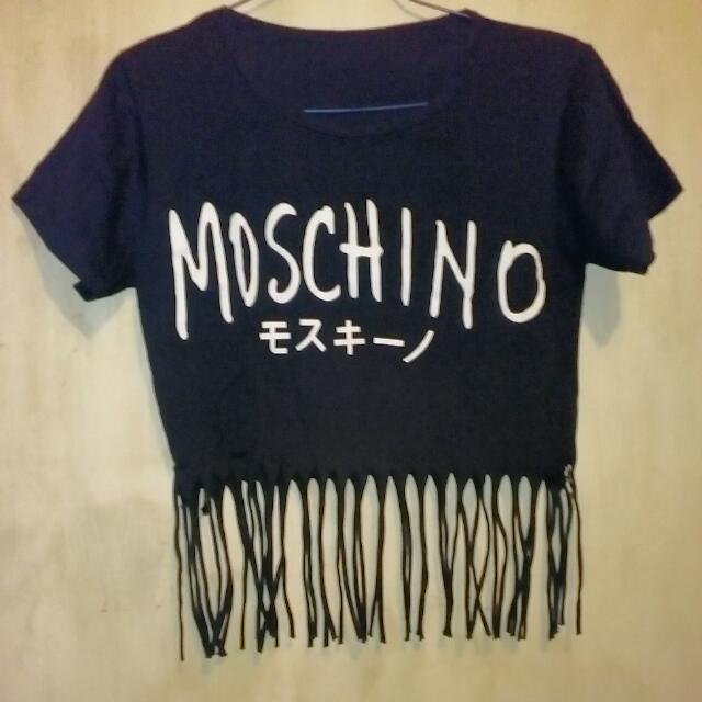 Moschino Fringe Croptop