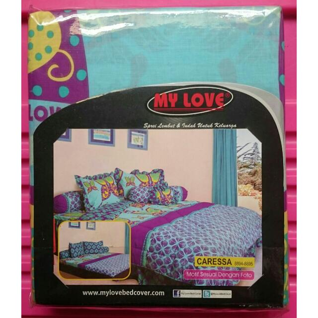 MY LOVE Sprei (New)