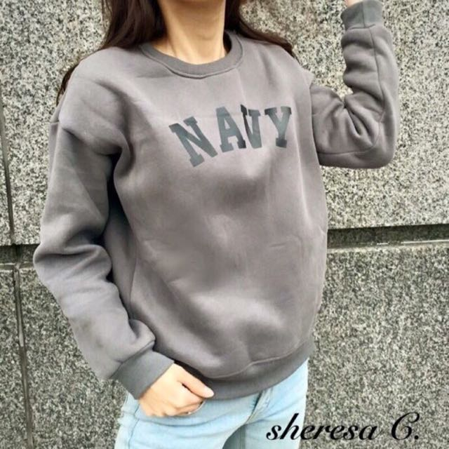 Navy百搭大學踢(灰)