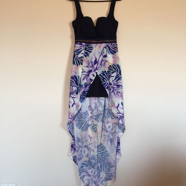 Navy Maxi Dress Size 8