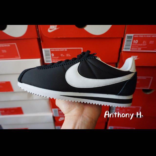 Nike Classic Cortez Wmns 阿甘 黑白