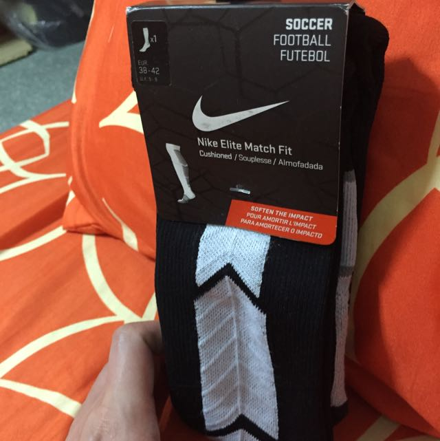 cb05982cc Nike Elite Match Fit Soccer Socks - Image Sock and Collections ...