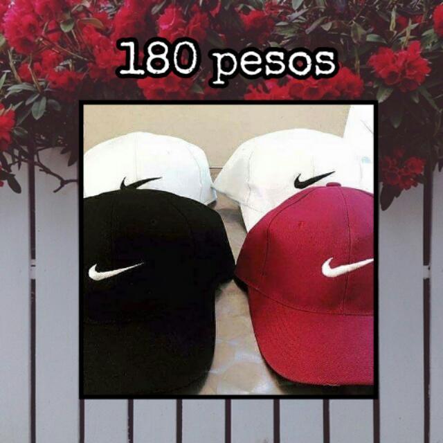 Nike Logo Baseball Caps