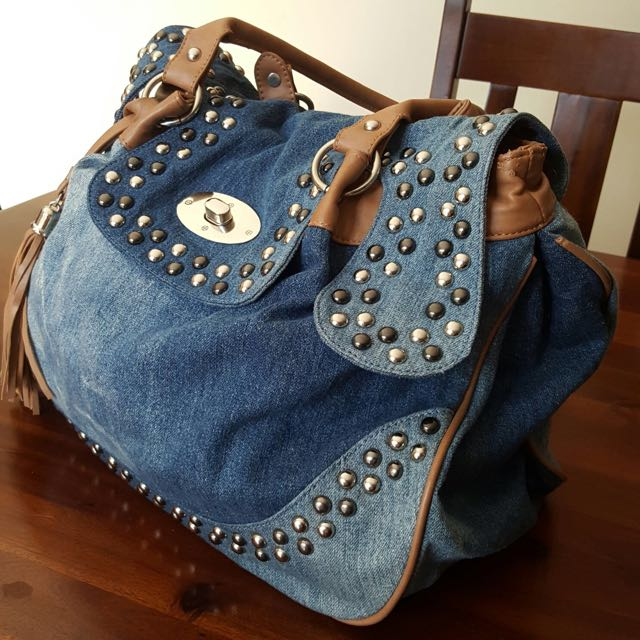 ONLY Denim Shoulder Bag