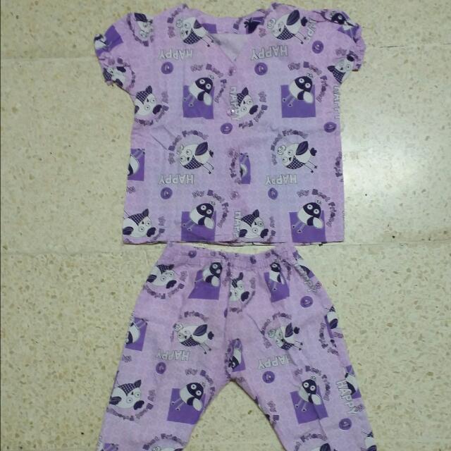 Pajamas - Happy Purple
