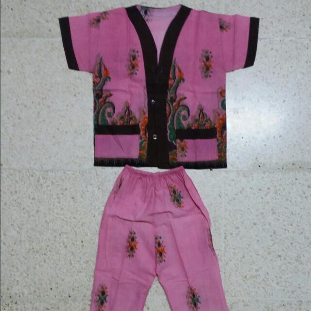 Pajamas - Pink Brown