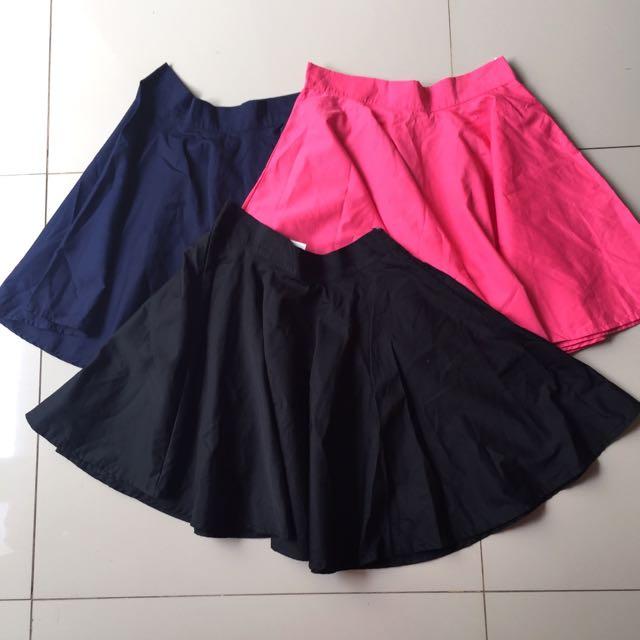 premium skirt atau rok