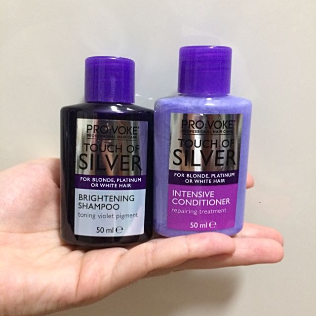 Provoke Touch Of Silver Shampoo And Conditioner