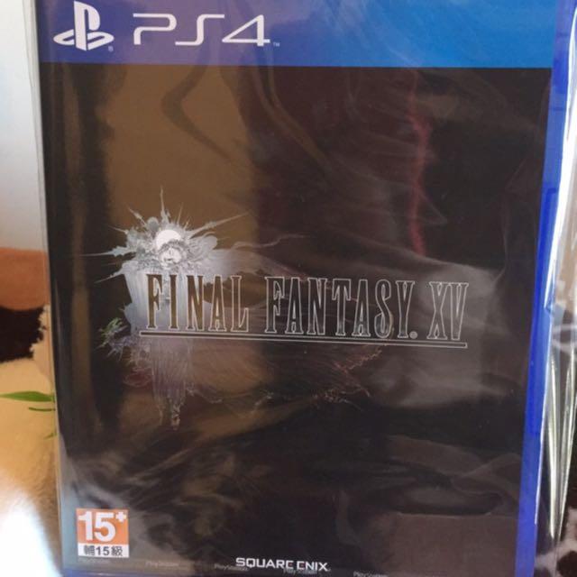 「全新現貨」PS4 太空戰士 15 最終幻想 15 (繁體中文版)