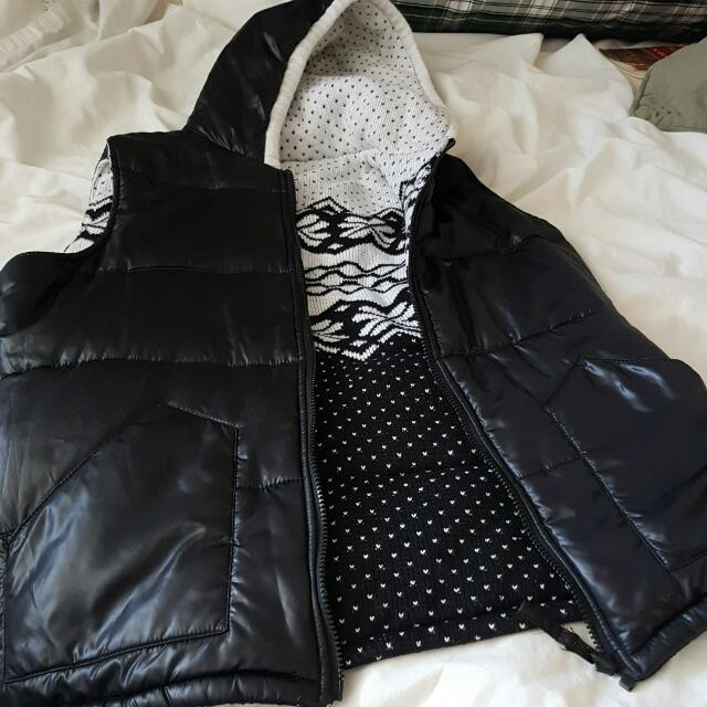 Puffer Vest- Reversible