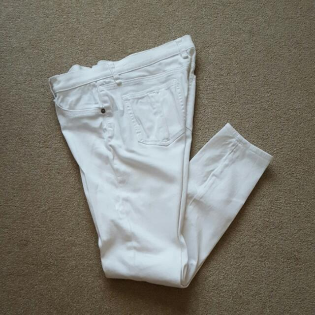Seed. White Jeans