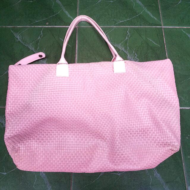 Shoulder Bag Pink Pastel