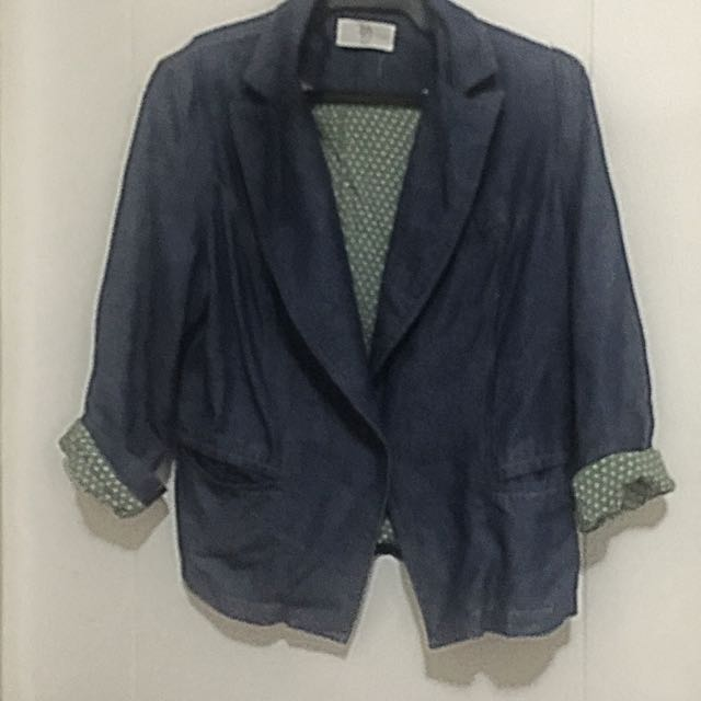 Soft Denim Bayo Blazer