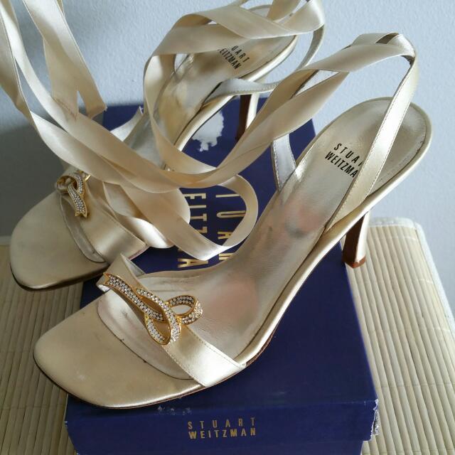 Stuart Weitzman Slingback Ballerina Shoes sz 39