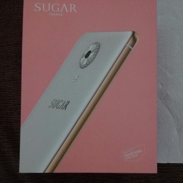 SUGAR C7 白色5吋時尚自拍手機
