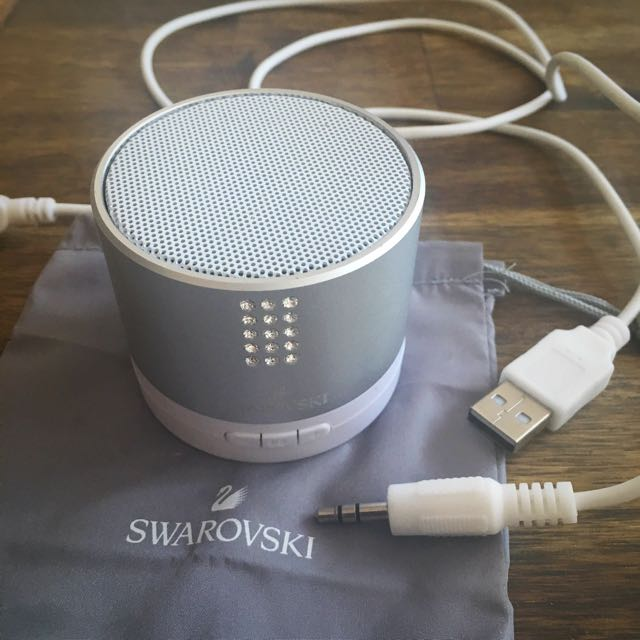 Swarovski Crystal Bluetooth Speaker