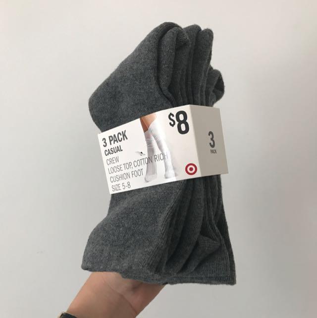 Target's Cushion Socks