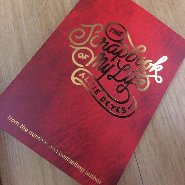 The Scrapbook Of My Life - Alfie Deyes