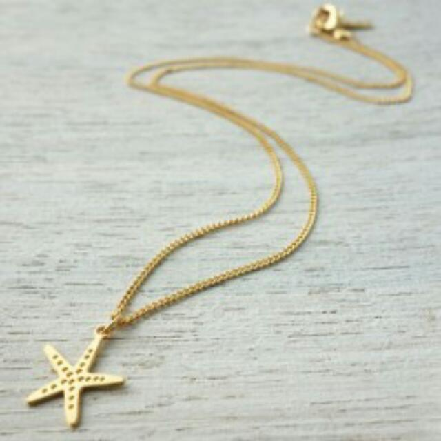 Tiny Star Fish Necklace