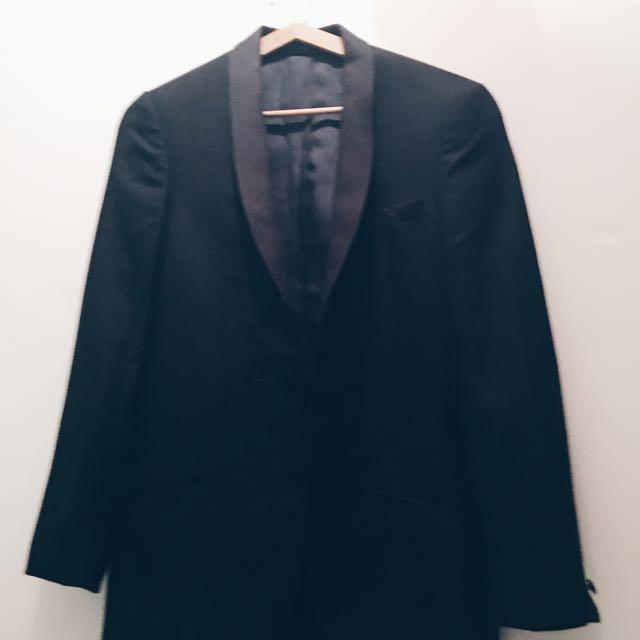Topman Wool Suit Jacket