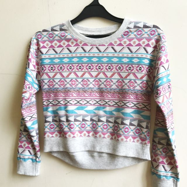 Tribal Sweater- Size S