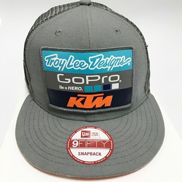 Troy Lee Designs KTM Snapback Hat - New Era 9Fifty  Authentic ... bb7a53b5645