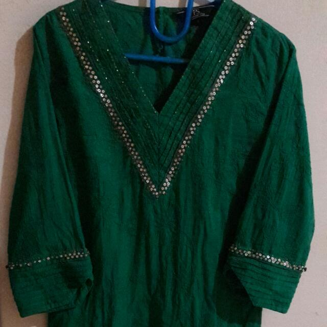 Tunik Payet Green