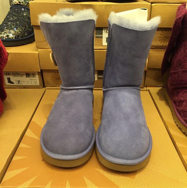 UGG雪靴(紫)