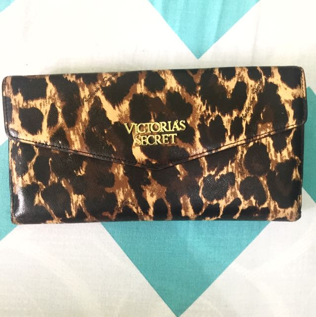 Victoria Secret Leopard Wallet