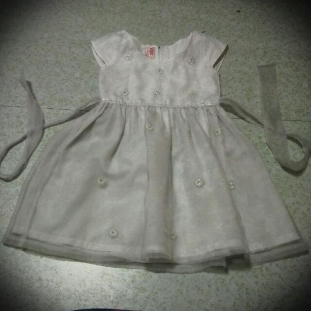 white dress for kids