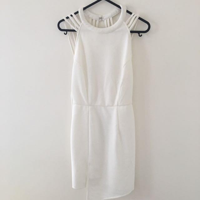 White Dress Size S